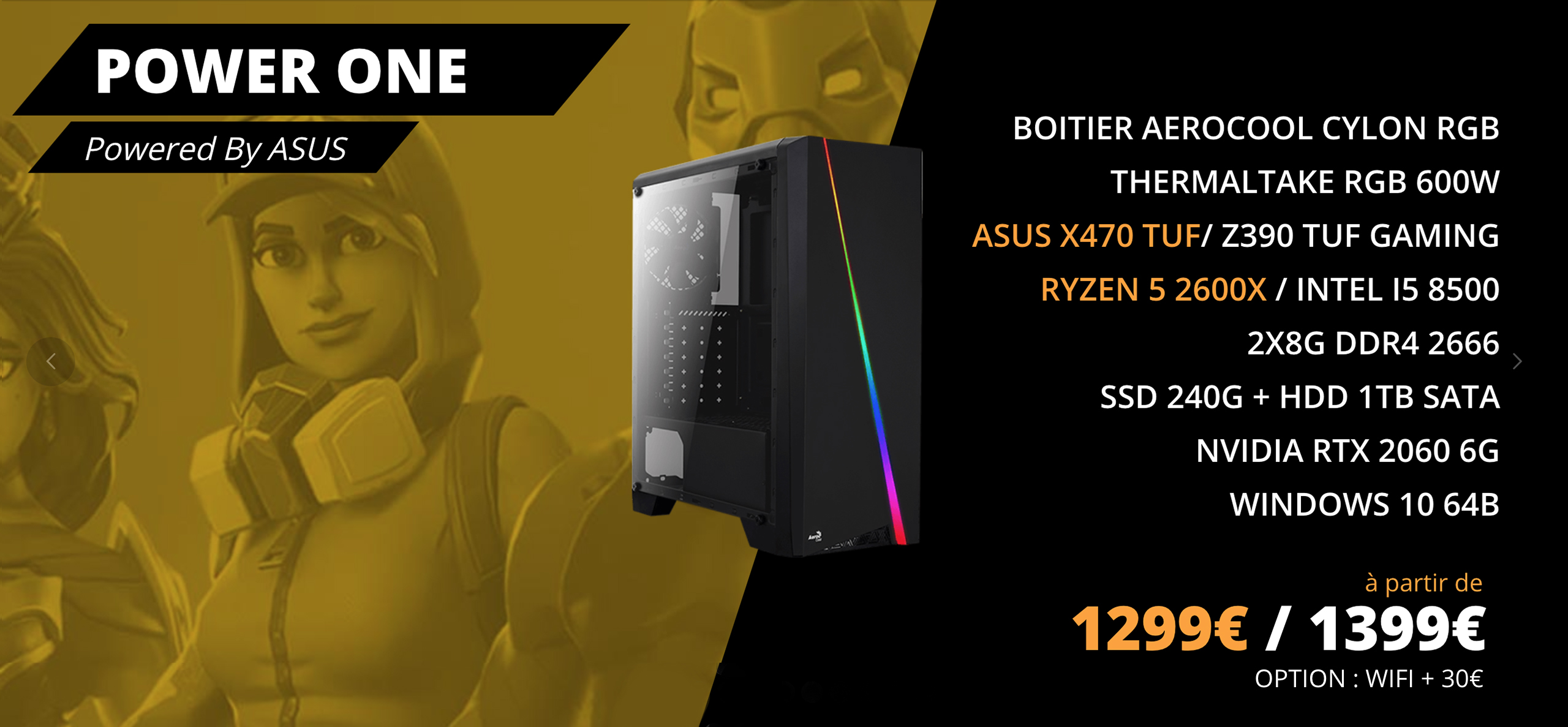 PC config Power One Promotion